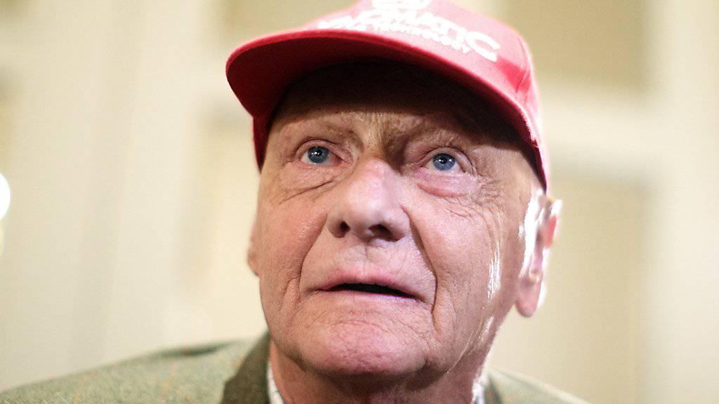 Starb im Alter von 70 Jahren: Der frühere Formel-1-Star und Flugunternehmer Niki Lauda. (Archivbild)
