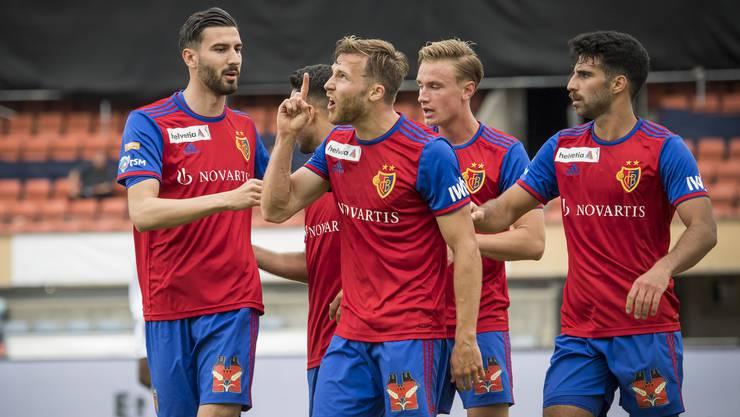 Um das Terminchaos etwas zu entschärfen, wurde bereits der Cup-Viertelfinal des FCB vorgezogen. Diesen gewannen die Basler gegen Lausanne und stehen im Halbfinal.