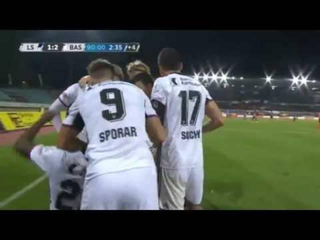 FC Lausanne –FC Basel 1:2 – alle Tore der Partie
