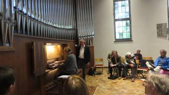 Orgelfesttage Meisterkurs Schlieren