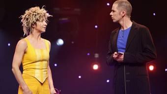 Ursus&Nadeschkin auf der Bühne in Arosa (Archiv)