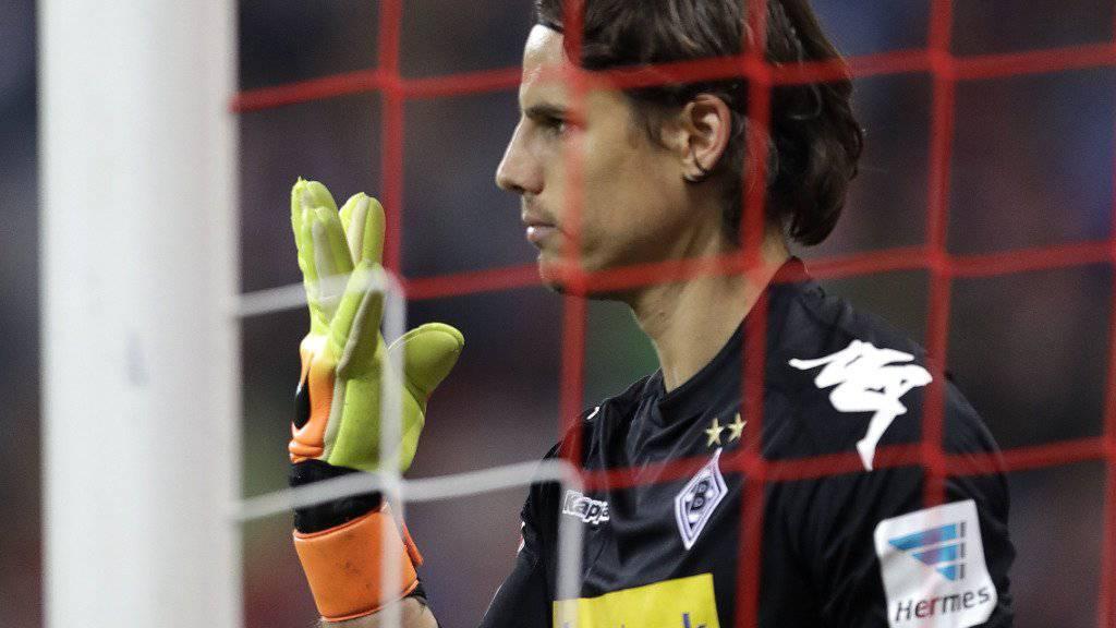 Verlängerte seinen Vertrag bei Mönchengladbach vorzeitig bis 2021: Yann Sommer