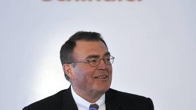 Das wars: Alfred Schindler gibt sein Amt als Konzernchef ab