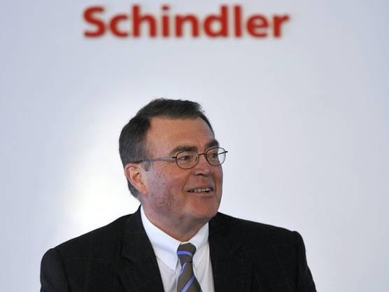 Alfred Schindler baute dieen weltweit wichtigsten Lift- und Rolltreppenkonzern Schindler. Der Umsatz lag erstmals über 10 Milliarden Franken.