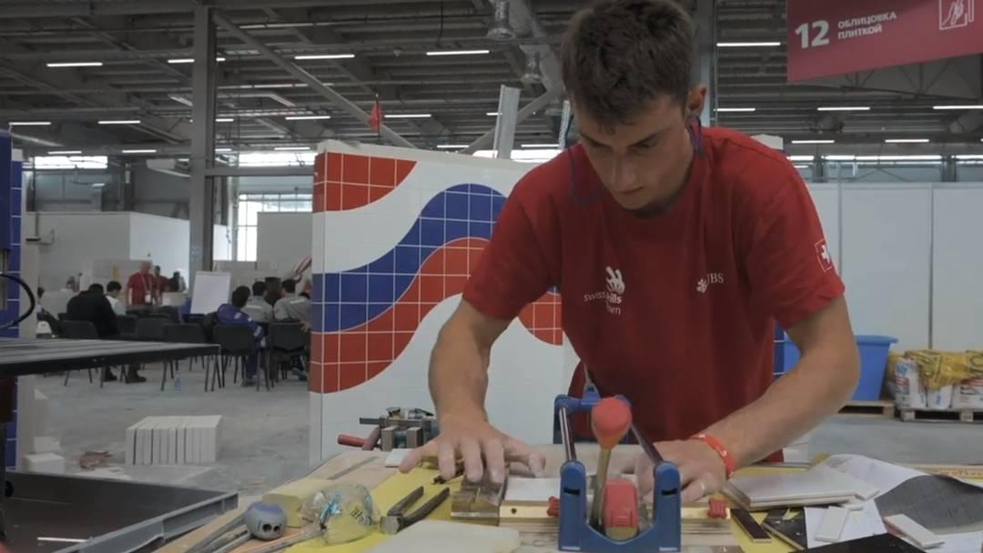Renato Meier an den World Skills