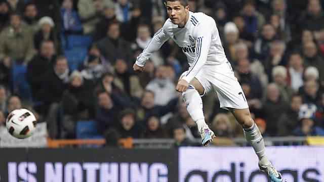 Cristiano Ronaldo schoss bereits 27 Treffer in dieser Saison