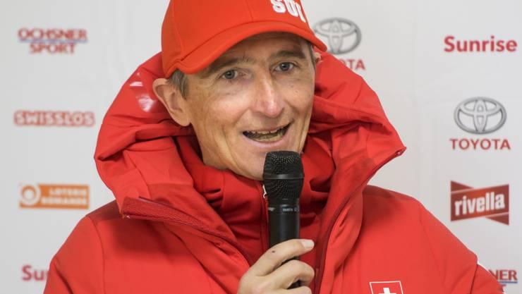 """Für Langlauf-Chef Hippolyt Kempf sind die Schweizer trotz """"ein paar ganz guter Momente"""" erst """"auf halbem Weg"""""""