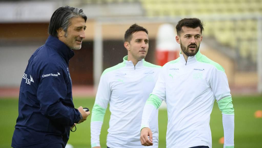 Hat Murat Yakin (links) mit dem Aufgebot für Albian Ajeti (rechts) die richtige Wahl getroffen?