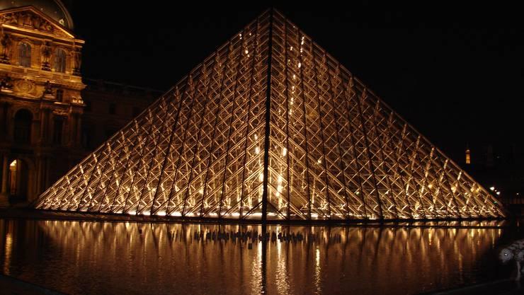 Das Louvre in Paris.