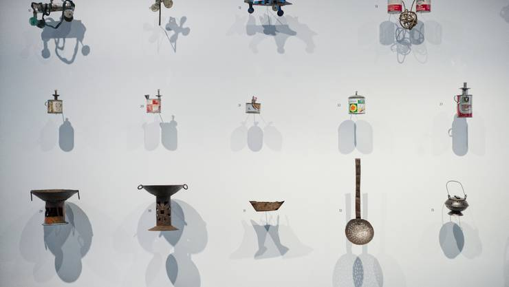 Upcycling-Objekte.