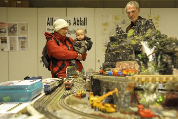 Modelleisenbahnausstellung in Aesch