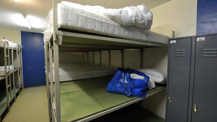 Eine Asylbewerber-Unterkunft