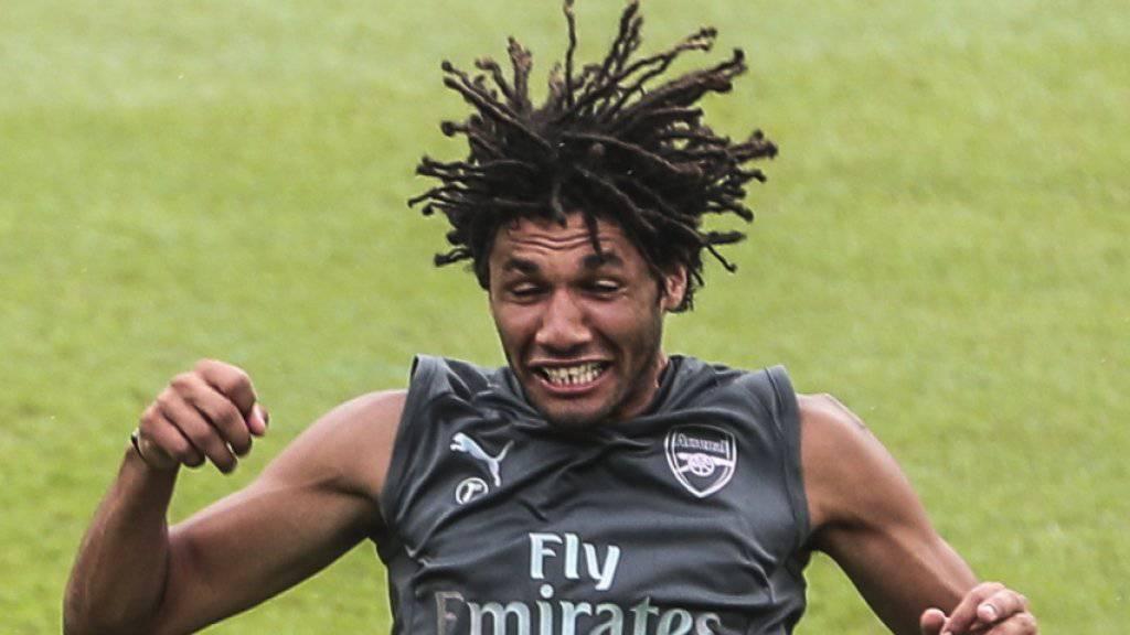Mohamed Elneny soll Arsenal verlassen