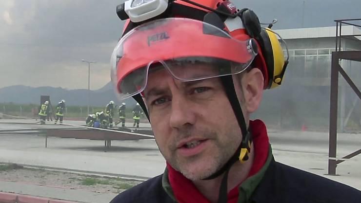 James Le Mesurier, Gründer der syrischen Rettungsorganisation Weisshelme, ist in Istanbul tot aufgefunden worden. Die Todesursache ist unklar. (Archivbild)