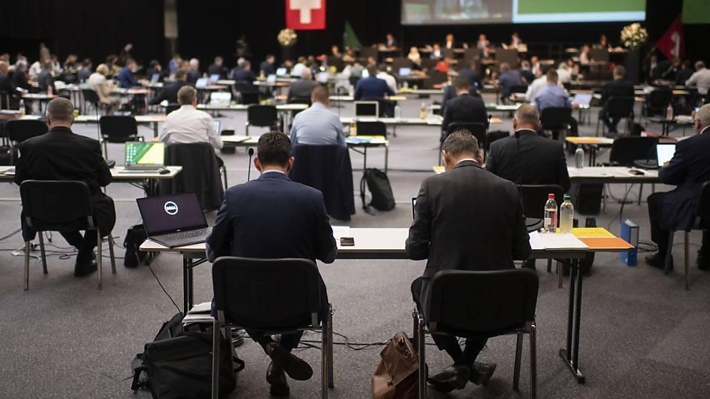 Der St. Galler Kantonsrat wird das Budget für 2021 in der Novembersession beraten. Eine geforderte Steuersenkung fällt wegen der Corona-Krise unter den Tisch. (Archivbild)