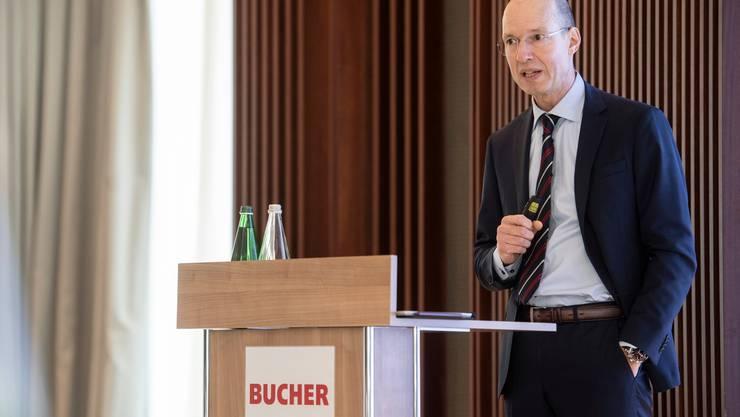 Jacques Sanche ist seit 2016 CEO von Bucher Industries.