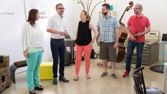 Eröffnung des Coworking-Raums Bureau.d in Dietikon