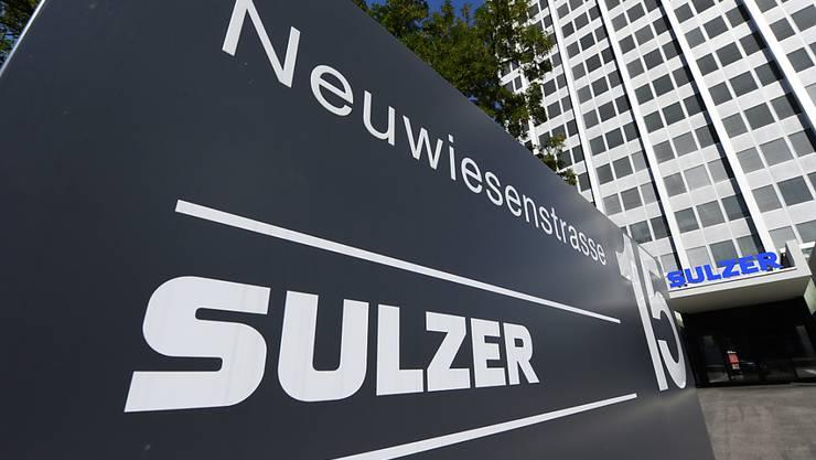 Das Management des Sulzer-Konzerns hat an diversen Standorten seine Fabrikationskapazitäten reduziert. Insgesamt wurden 410 Stellen abgebaut. (Archivbild)