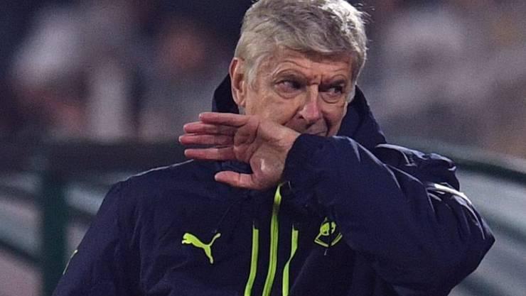 """Arsène Wenger (im Bild) will """"zahmeren"""" Granit Xhaka"""