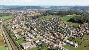 Um die Siedlungsentwicklung nach innen fördern zu können, sind Auf- und Umzonungen vorgesehen.