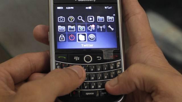 Weniger Erfolg für den Blackberry (Archiv)