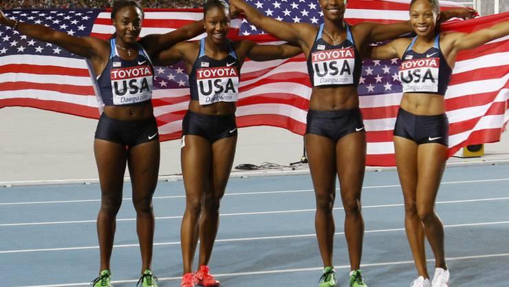 Die Athletinnen (und Athleten) der USA müssen bis im Juli 2022 auf ihre Heim-WM in Eugene warten