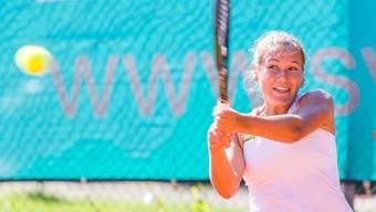 Titelverteidigerin Ylena In-Albon bewies Kämpferqualitäten und gewann ihr Einzel nach drei Stunden.