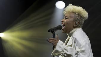 Emeli Sandé: Das Publikum liebte sie, und das war von Anfang an klar. Keystone