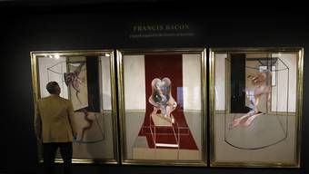 Ein Werk von Francis Bacon hat bei einer Auktion den dritthöchsten Betrag für ein Bild dieses Künstlers erzielt. (Symbolbild)