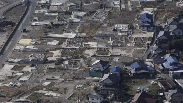 Der Tsunami richtete in Sendai gewaltige Schäden an (Archiv)