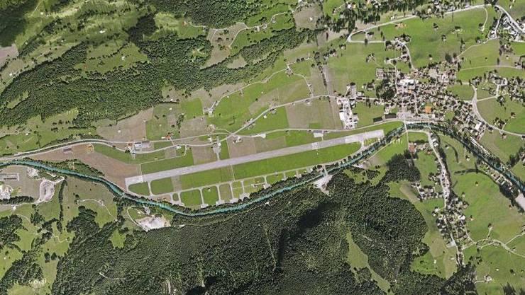flugplatz saanen google maps