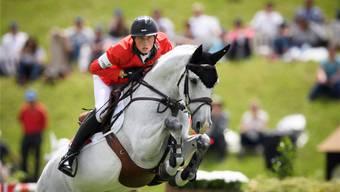 Martin Fuchs wurde disqualifiziert, weil sein Pferd Clooney blutete.