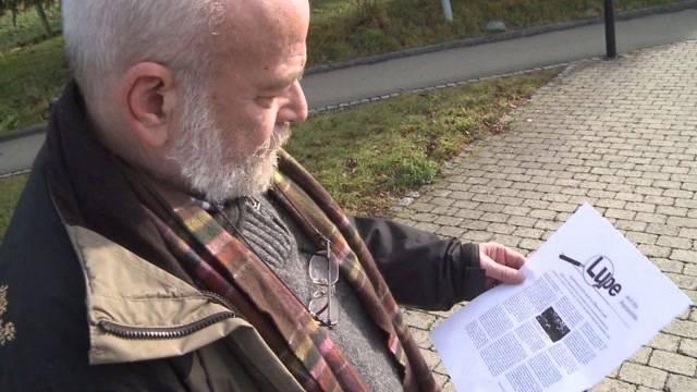 Andreas Glarner kreiert anonyme Flugblätter