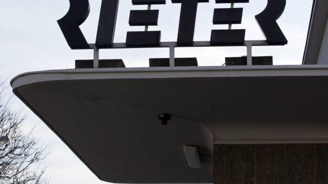 Logo der Rieter Holding AG in Winterthur (Archiv)