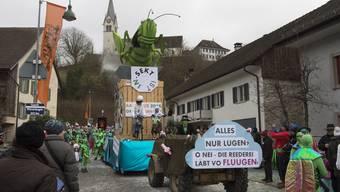 Impressionen Fasnachtsumzug Würenlingen 2016