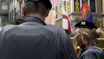 Die SVP-Initiative für mehr Polizisten in Basel ist gescheitert (Archiv)