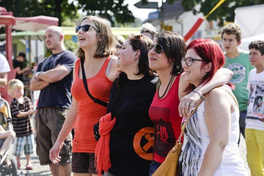Viel Unterhaltung und jede Menge Spass am Strassenfest in Amriswil. (Archivbild: Thurgauer Zeitung)