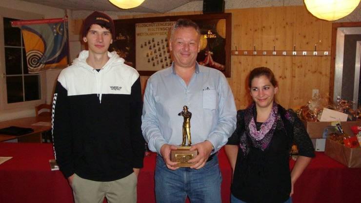 von links nach rechts: Elia Köchli, Gery Brunner, Karin Fischer