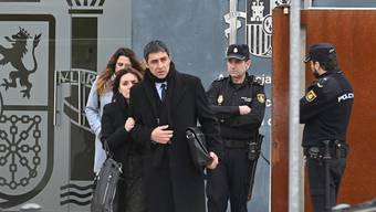 Dieser Mann könnte Spaniens Regierung in Bedrängnis bringen - ungewollt: Kataloniens Ex-Polizeichef Josep Lluís Trapero drohen 11 Jahre Haft. (Bild: Keystone)