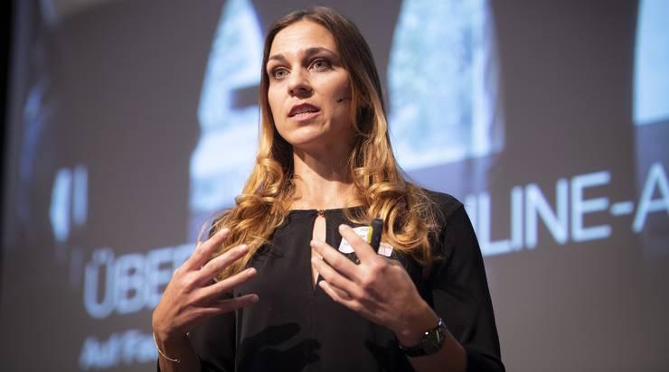 Ex-Nati-Spielerin Karin Weigelt ist Projektleiterin der Handball-Akademie.