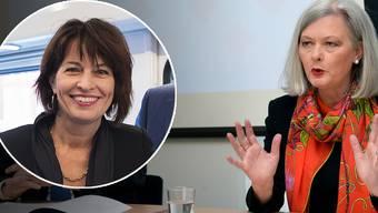 Doris Aebi (rechts), Gründerin und Mitinhaberin der Executive SearchFirma «aebi+kuehne», sucht für Schlüsselpositionen im Management gezielt auch Frauen.