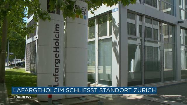 LafargeHolcim baut 100 Stellen in Zürich ab