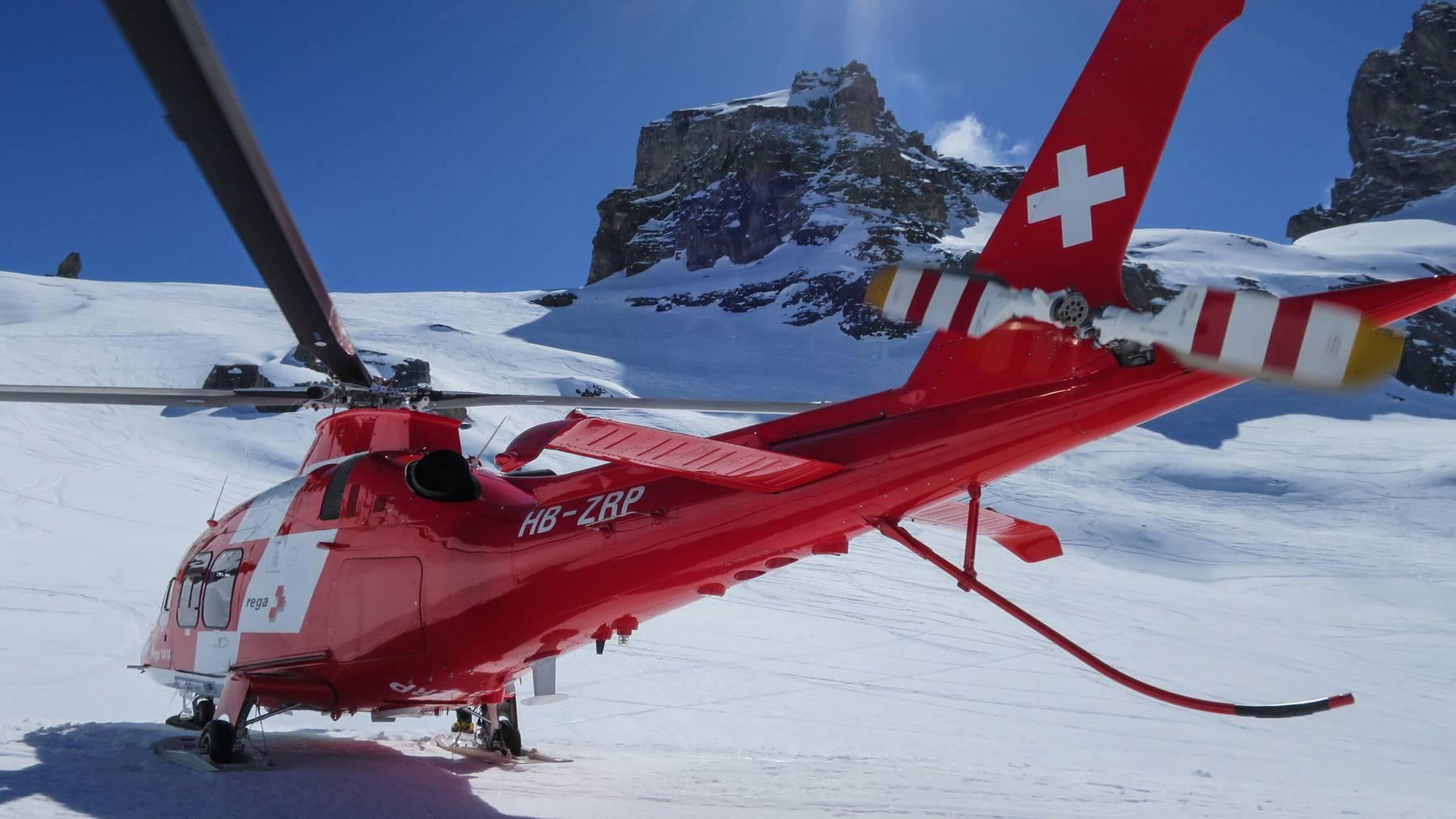 Auf dem «Chlyn Wendenstock» in den Urner Alpen verunfallte am Sonntagvormittag ein Bergsteiger und stürzte über 200 Meter tief.