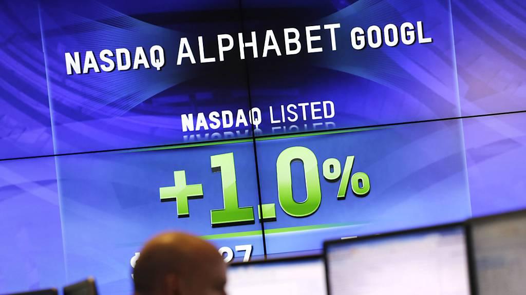 Google-Mutter Alphabet wächst