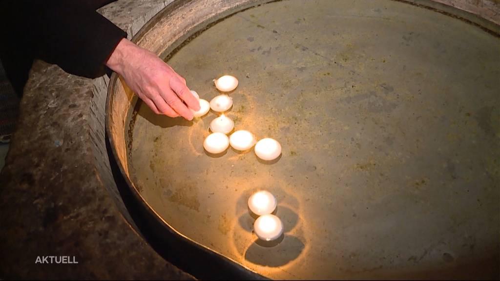 Schweigeminute für Corona-Opfer in der Schweiz