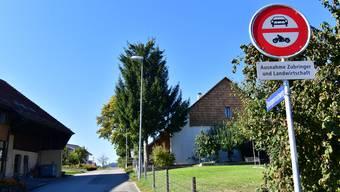 Seit fünf Jahren ist der Stumpenrainweg zwischen Neuendorf und Niederbuchsiten mit einem Fahrverbot belegt.