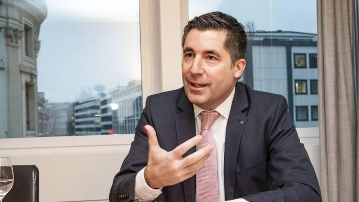 «Mir wurde es nie langweilig» – Patrice Kleewein arbeitet seit über zwei Jahrzehnten für die Credit Suisse.
