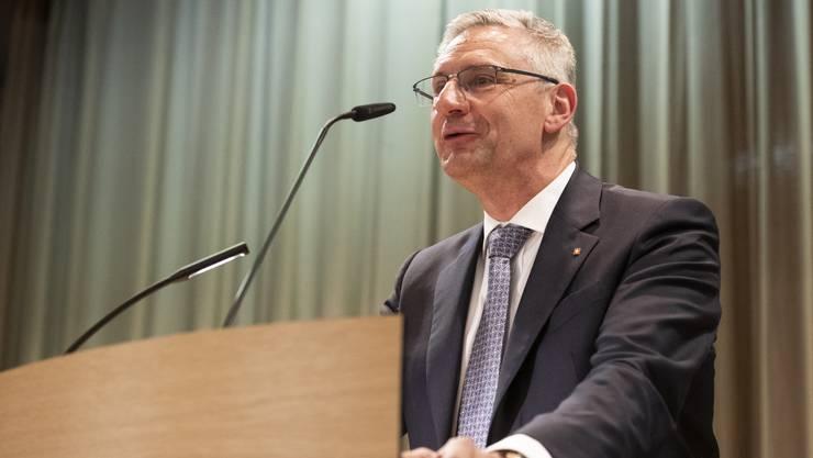 Überraschung am SVP-Parteitag: Die Delegierten wählen Andreas Glarner zum neuen Parteipräsidenten.