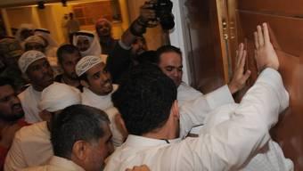Demonstranten stürmten am Mittwochabend das Parlamentsgebäude