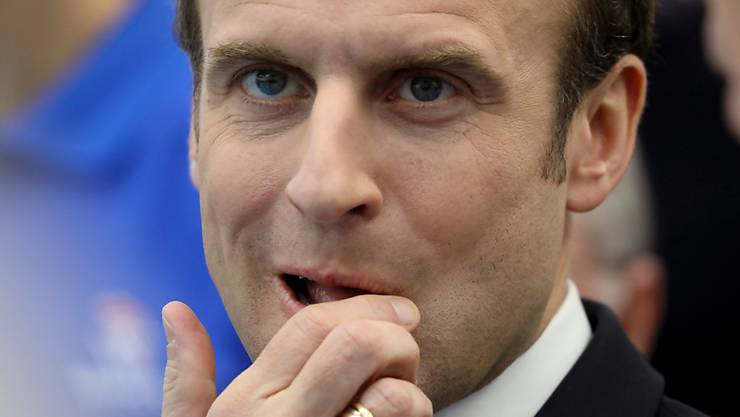 Die Situation in seinem Land macht es für ihn unmöglich: Frankreichs Präsident Emmanuel Macron nimmt nicht am WEF in Davon teil.